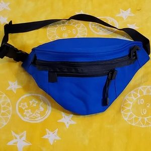 Poly Canvas Fanny Pack